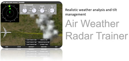 Aircraft Air Weather Radar Trainer