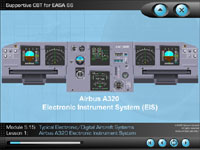Airbus A320 CBT for EFIS and ECAM