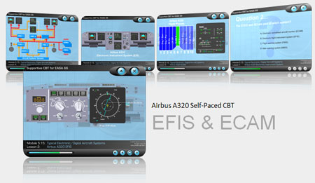 A320 CBT for EFIS and ECAM