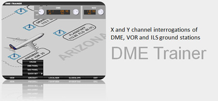 DME Radio Navigation Trainer